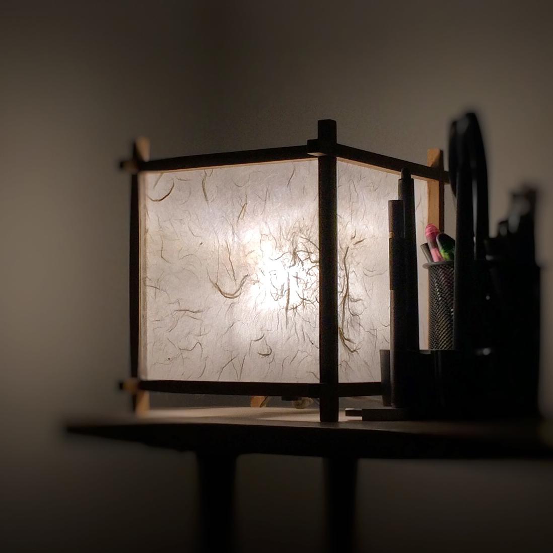 Derek Mah paper lamp