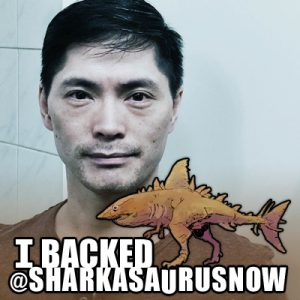 Derek Mah Spencer Estabrooks Sharkasaurus Twibbon Facebook