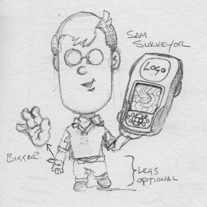 Derek Mah Character Sketch Geomatics