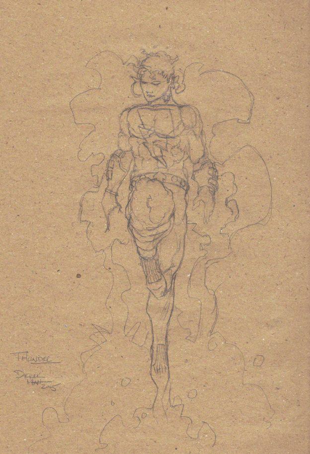 Derek Mah Michael McAdam Thunder Sketch