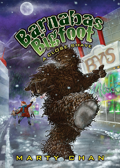 Marty Chan's Barnabas Bigfoot - a close shave cover