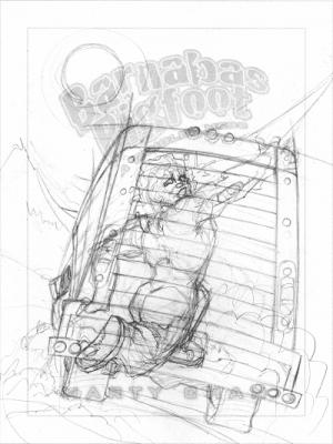 Derek Mah Marty Chan Barnabas Bigfoot Hairy Tangle Cover Thistledown Press