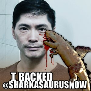 Sharkasaurus Twibbon Facebook