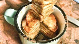 Derek Mah coffee syrup banana pancake recipe
