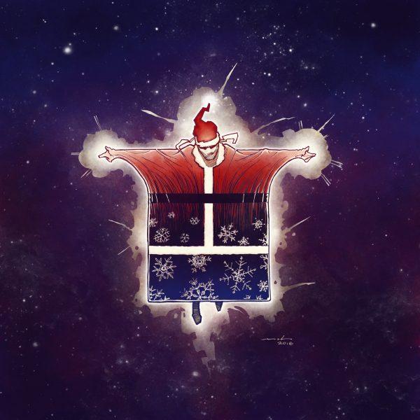 Derek Mah Santa Origins Thin