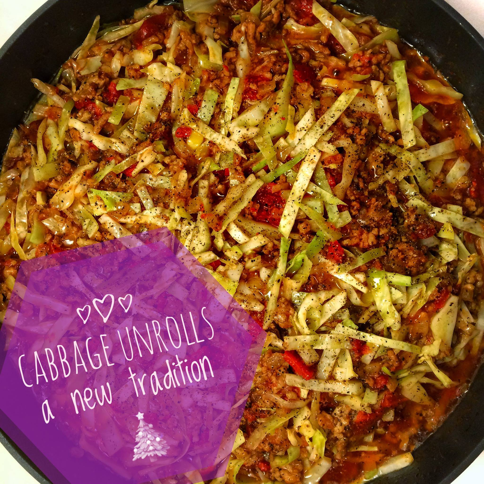 cabbage unrolls recipe - Derek Mah