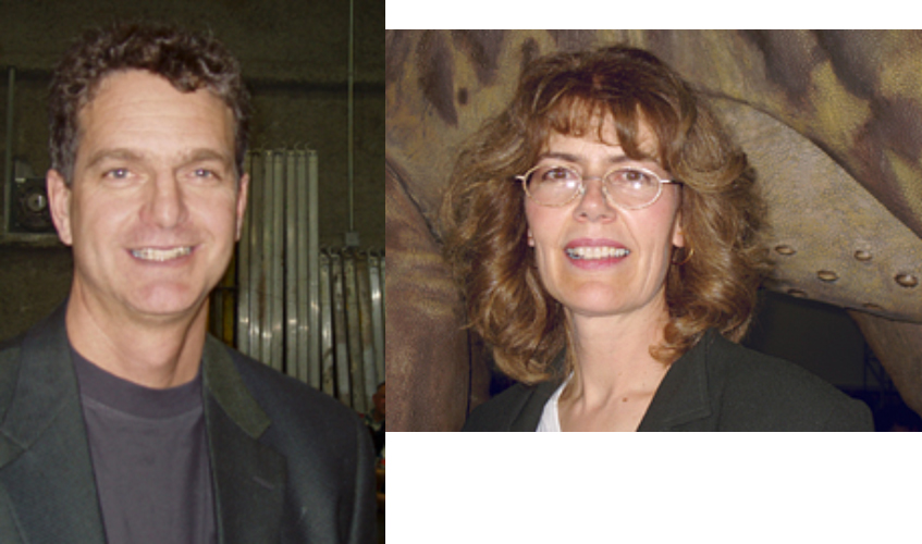 Brian Cooley and Mary Ann Wilson